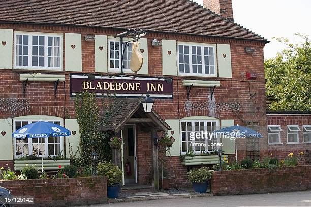 The 'Bladebone Inn' In The Village Of Bucklebury, Berkshire, United Kingdom, The Home Village Of Kate Middleton'S Parents Michael And Carole...