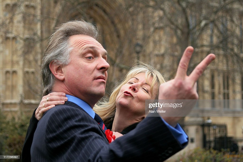 The New Statesman - Episode 2006: The Blair B'Stard Project London Photocall : News Photo