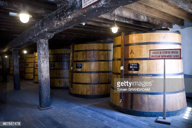 The Blandy's cellars of Madeira wines in Funchal Island of Madeira Portugal