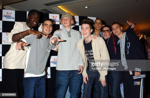 The Blazin Squad arrive for the Capital FM Awards for Help a London Child charity at the Royal Lancester Hotel