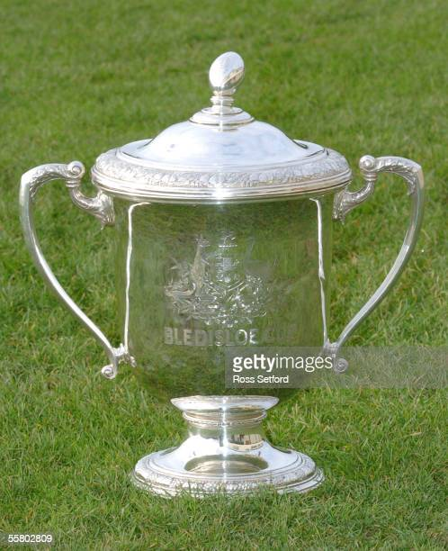 The Bledisloe Cup Trophy Wellington New Zealand Tuesday July 13 2004 The cup was donated by Lord Bledisloe in 1931 for rugby between New Zealand and...