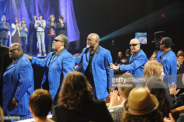 The Blind Boys of Alabama during the 40th Annual GMA Dove Awards held at the Grand Ole Opry House on April 23, 2009 in Nashville, Tennessee.