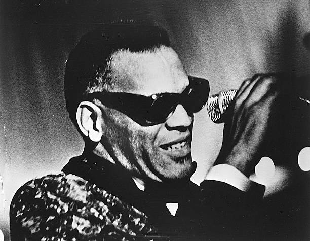 Singer Ray Charles