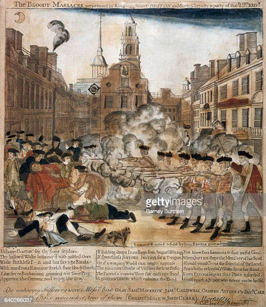 The Bloody Massacre by Paul Revere