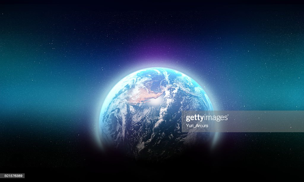 The blue beauty of our galaxy : Stockfoto