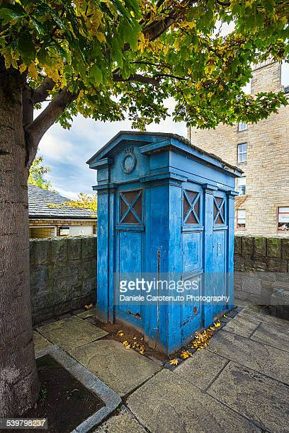 the blue box - daniele carotenuto stock-fotos und bilder