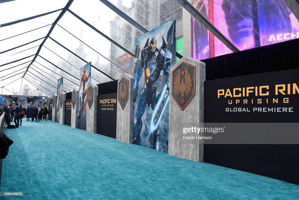 "Universal's ""Pacific Rim Uprising""  Premiere - Arrivals"