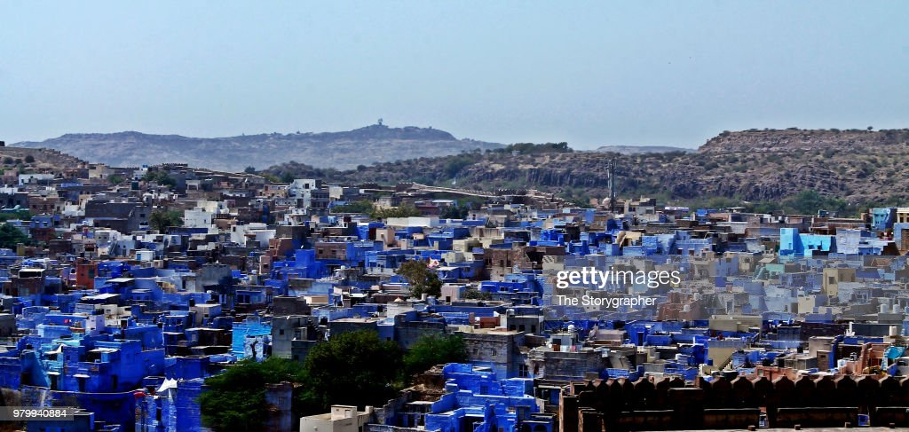 the Blue City - Jodhpur : Stock Photo