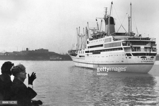The Blue Funnel Line vessel Centaur departs from Liverpool for her delivery voyage to Australia sailing via the Suez Canal to Singapore after which...