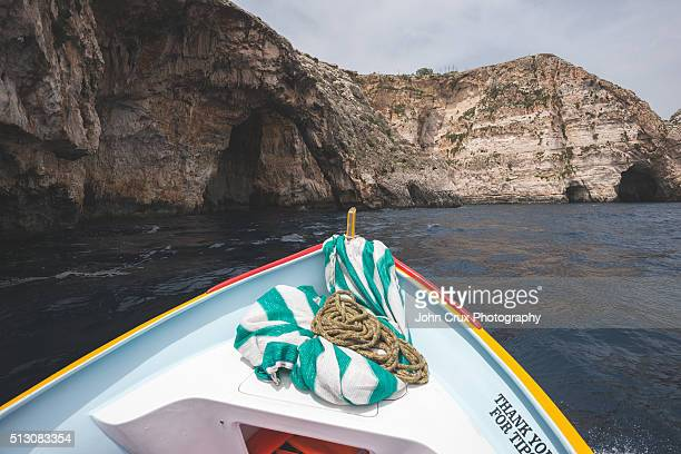 The Blue Grotto boat trip