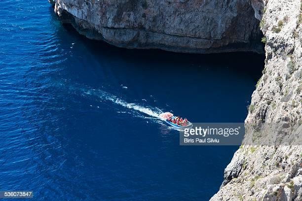 The Blue Grotto, Malta Island, Europe