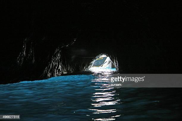 the blue grotto - 青の洞窟 ストックフォトと画像