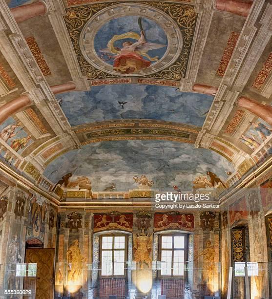 The Blue Hall of Hellbrunn Palace