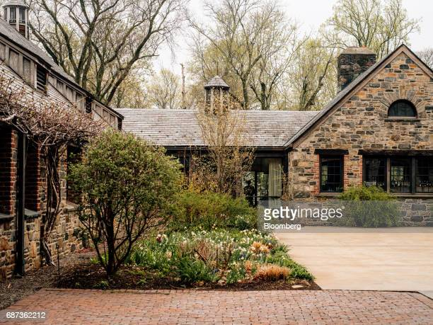 The Blue Hill at Stone Barns restaurant stands in Pocantico Hills New York US on Friday April 21 2017 As customers are increasingly demanding...