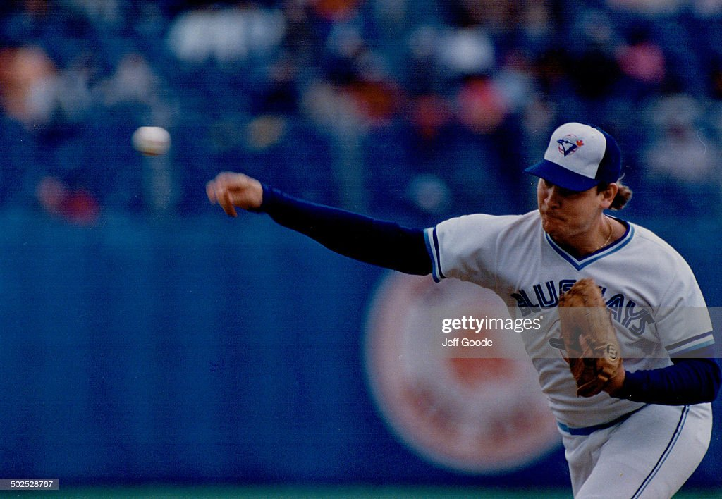 The Blue Jays have relied heavily (too heavily?) on the strong right arm of reliever Duane Ward.