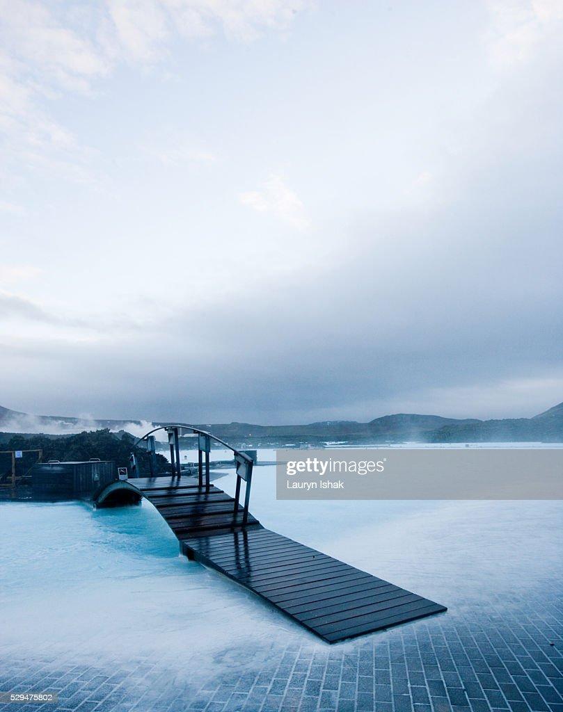 The Blue Lagoon : Stock Photo