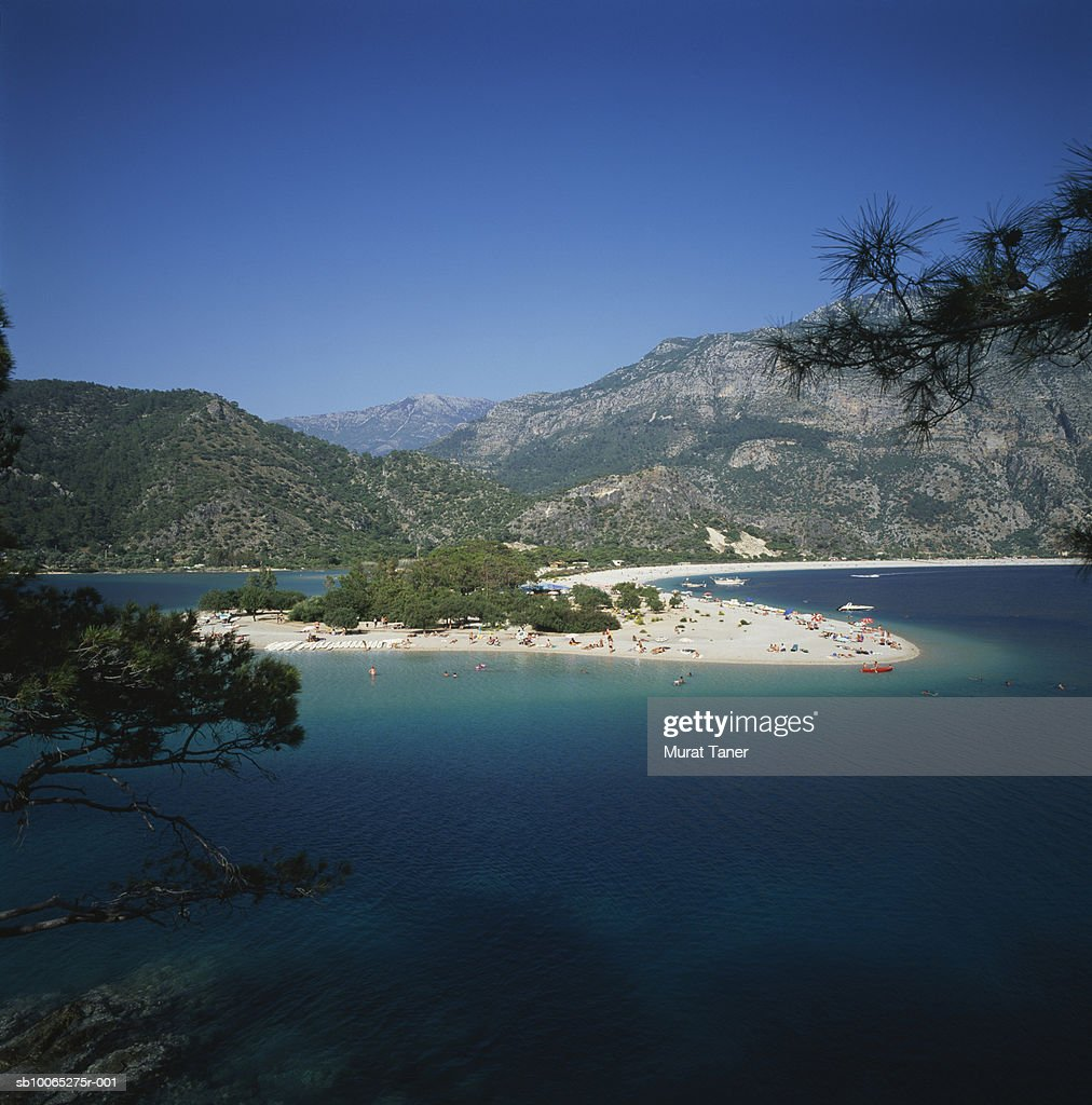 The Blue Lagoon (Olu Deniz) : Foto stock