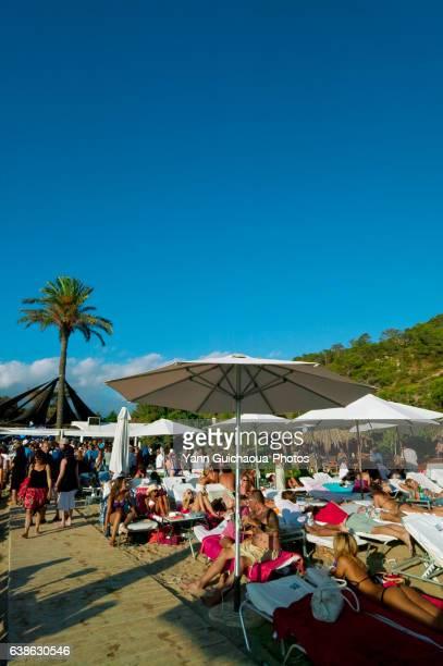 The Blue Marlin Beach, Ibiza, Balearic Islands, Spain