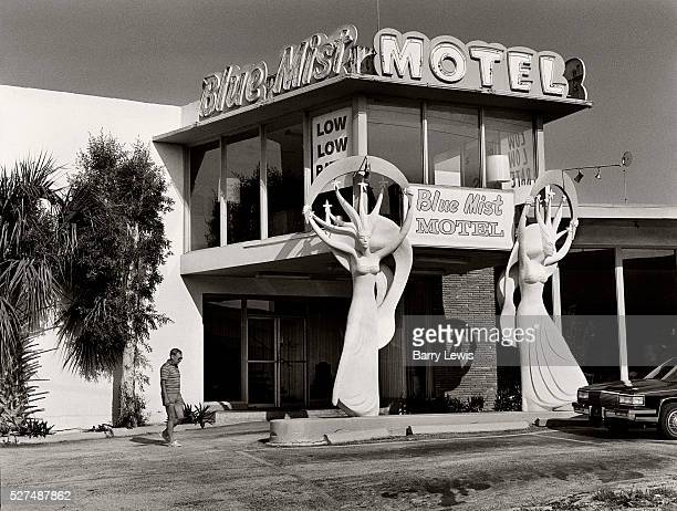 The Blue Mist Motel in North Miami Beach on Collins Avenue, the strip leading down to the more fashionable South Beach, opened in 1961 in the Miami...