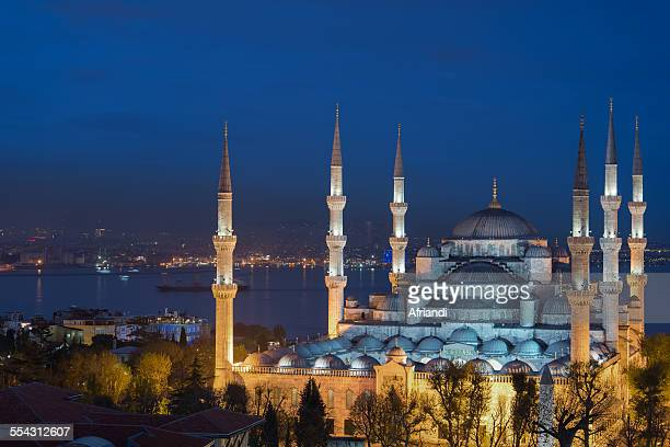 the blue mosque, istanbul - blue mosque stock pictures, royalty-free photos & images
