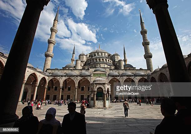 The Blue Mosque on May 20 2009 in Istanbul Turkey The Blue Mosque was built in 1609 1616 by Sultan Ahmet I