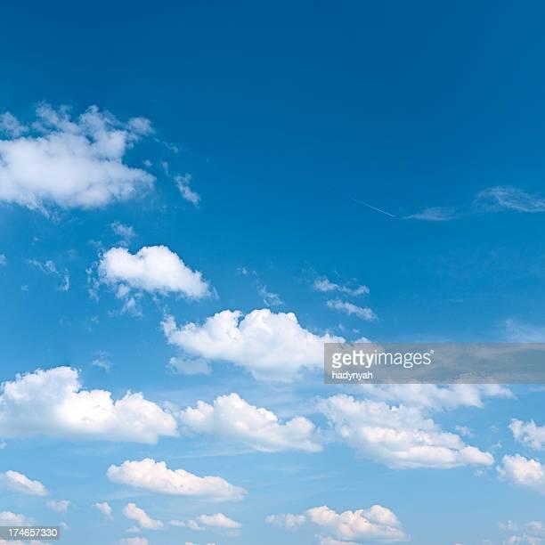 o céu azul 21 mpix-xxxl size - céu claro - fotografias e filmes do acervo