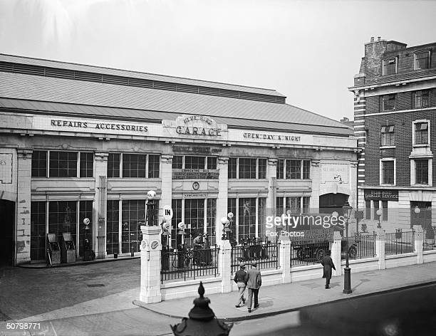 The Bluebird Garage on King's Road Chelsea April 1929