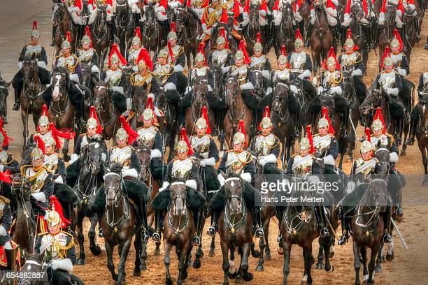 The Blues and Royals, Trooping the Colour, London