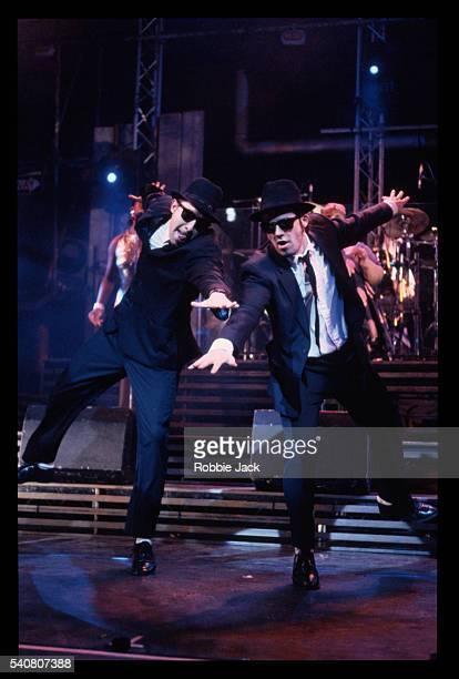 the blues brothers stage play - robbie jack stock-fotos und bilder