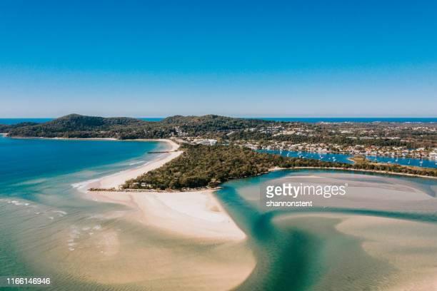 the blues of noosa - sunshine coast australia stock pictures, royalty-free photos & images