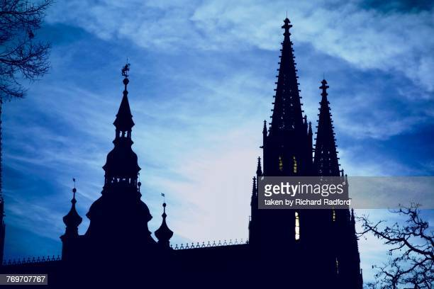 the blues - spire stock pictures, royalty-free photos & images