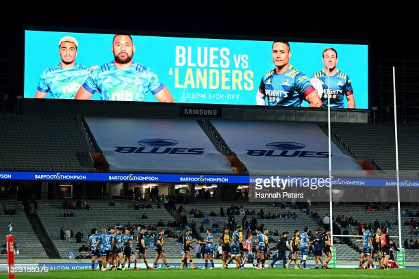 The Blues will play the Highlanders in the final after winning the round five Super Rugby Trans-Tasman match between the Blues and the Western Force...