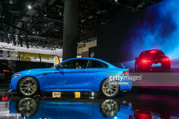 The BMW 2 Series Gran Coupe is shown during its world premiere at AutoMobility LA on November 20, 2019 in Los Angeles, California. The four-day press...