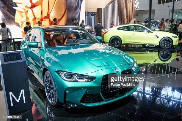 The BMW All-new M3 at the Beijing International Auto Show, Beijing, China, September 26, 2020.- PHOTOGRAPH BY Costfoto / Barcroft Studios / Future...