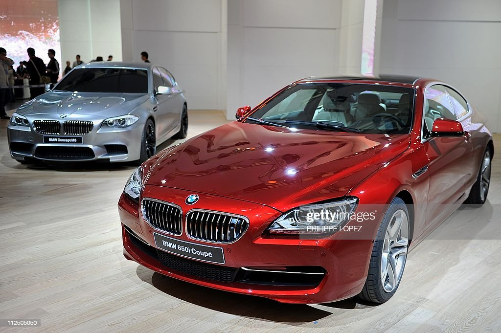 The BMW Concept M5 (L) and BWM 650i coup Pictures | Getty Images