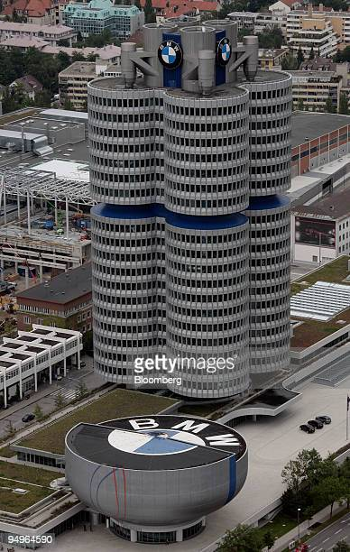 The BMW headquarters are seen in Munich Germany on Monday Aug 3 2009 Bayerische Motoren Werke AG the world's largest maker of luxury cars reported a...