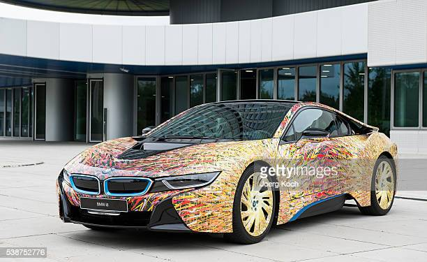 The BMW i8 Futurism Edition is seen during a presentation on June 8 2016 in Munich Germany