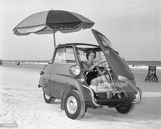 The BMW Isetta was powered by a 298cc single cylinder fourstroke engine that produced a top speed of 53 mph