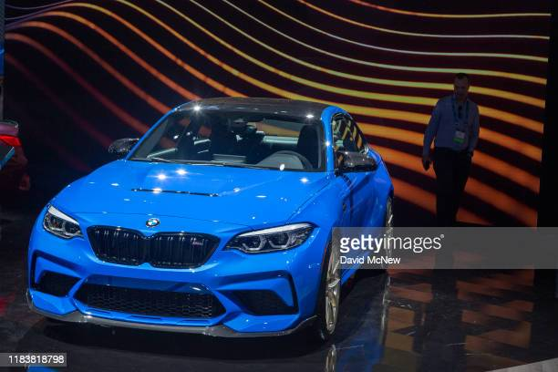 The BMW M2 CS Coupe is shown at AutoMobility LA on November 21, 2019 in Los Angeles, California. The four-day press and trade event precedes the Los...