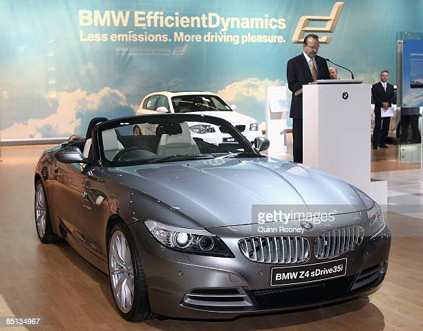The BMW Z3 is displayed during the Melbourne International Motor Show 2009 at the Melbourne Exhibition and Convention Centre on February 27 2009 in...