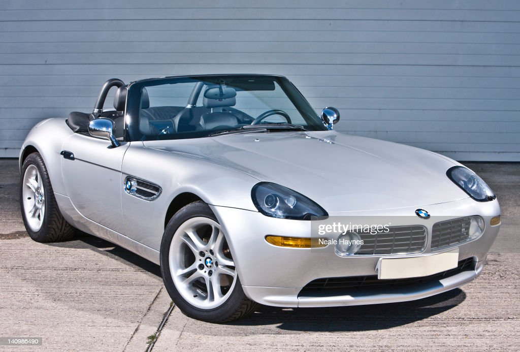 The Bmw Z8 Car Which Appeared In The James Bond Movie The World Is