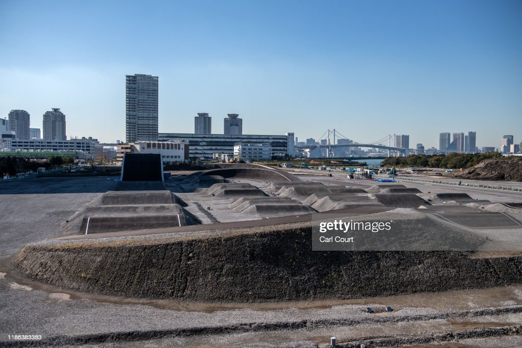 Work Continues On Tokyo 2020 Olympic Venues : News Photo