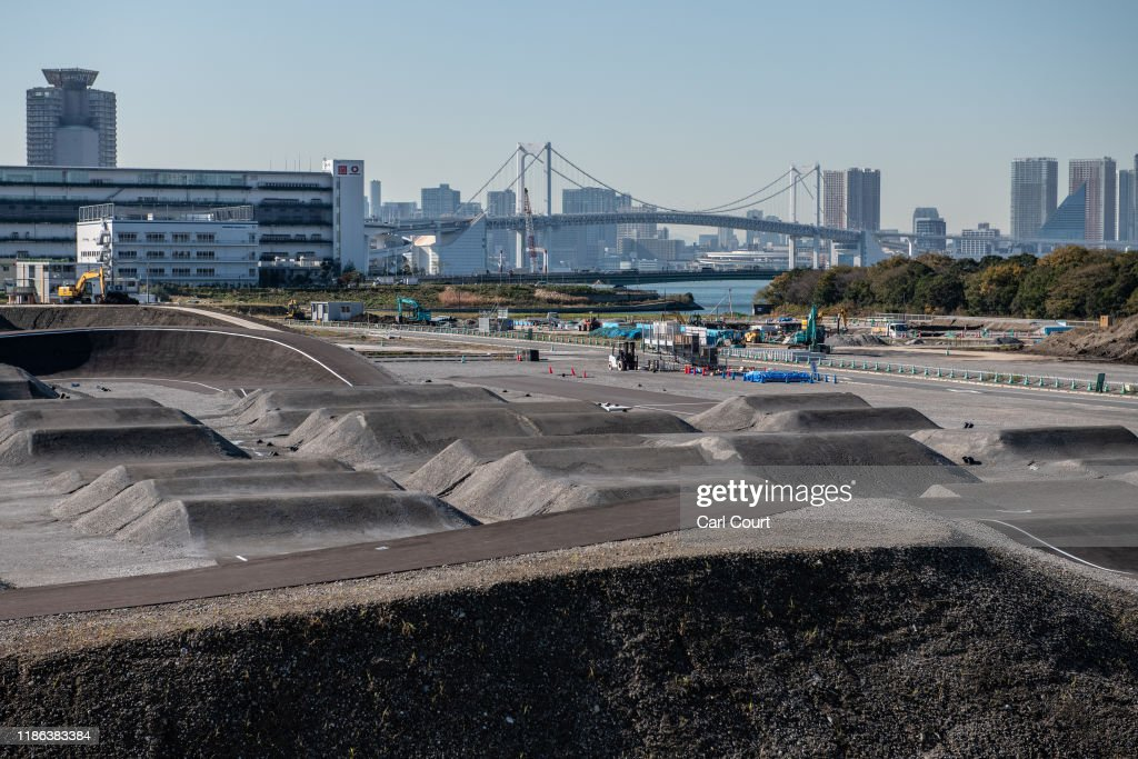 Work Continues On Tokyo 2020 Olympic Venues : Nieuwsfoto's