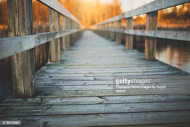 the boardwalk - dustin abbott - fotografias e filmes do acervo