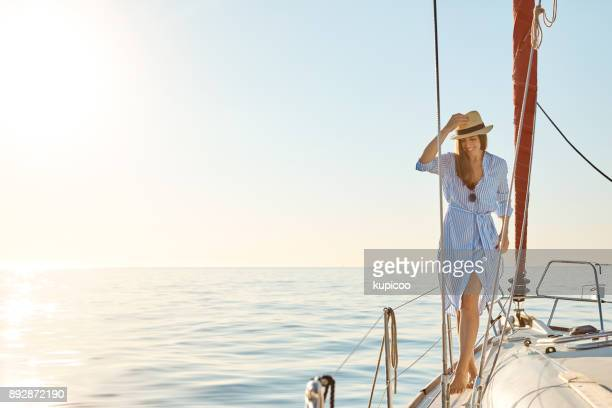 the boat life aka the good life - carefree stock pictures, royalty-free photos & images