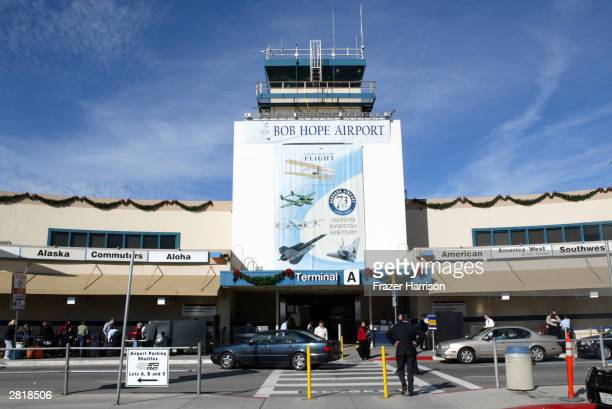 The Bob Hope Airport formerly The Burbank-Glendale-Pasadena Airport on December 17 2003, Burbank, California.