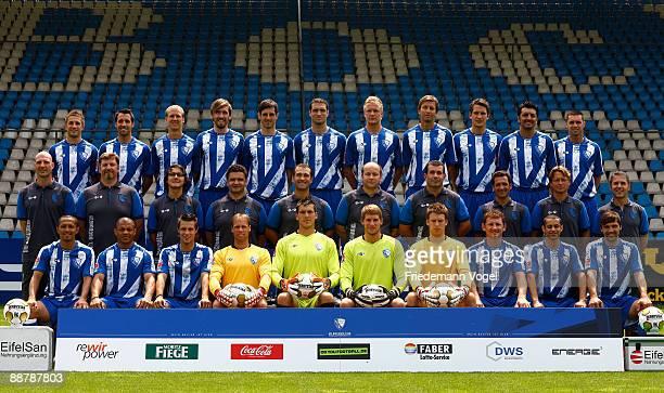 The Bochum team with Stanislav Sestak Matias Concha Andreas Johansson Christian Fuchs Mergim Mavraj Diego Klimowicz Kevin Vogt Christoph Dabrowski...