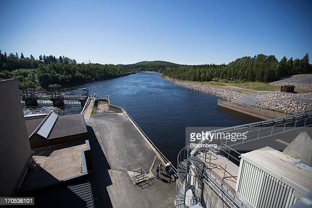 The Boden Hydro Power Station operated by Vattenfall AB stands on the Lule Alv river in Boden Sweden on Thursday June 13 2013 The northern Swedish...