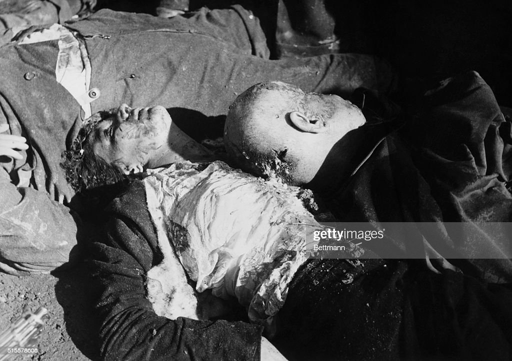Bodies Of Benito Mussolini And Mistress : News Photo