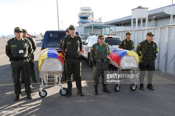 The bodies of Óscar Villacís and Katty Velasco are repatriated to Ecuador from Colombia the couple of Ecuadorians who was kidnapped on April 11 by...